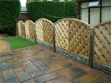 decorative garden fencing more stylish and creative than standard fence panels available in different styles and height options - Decorative Fence Panels